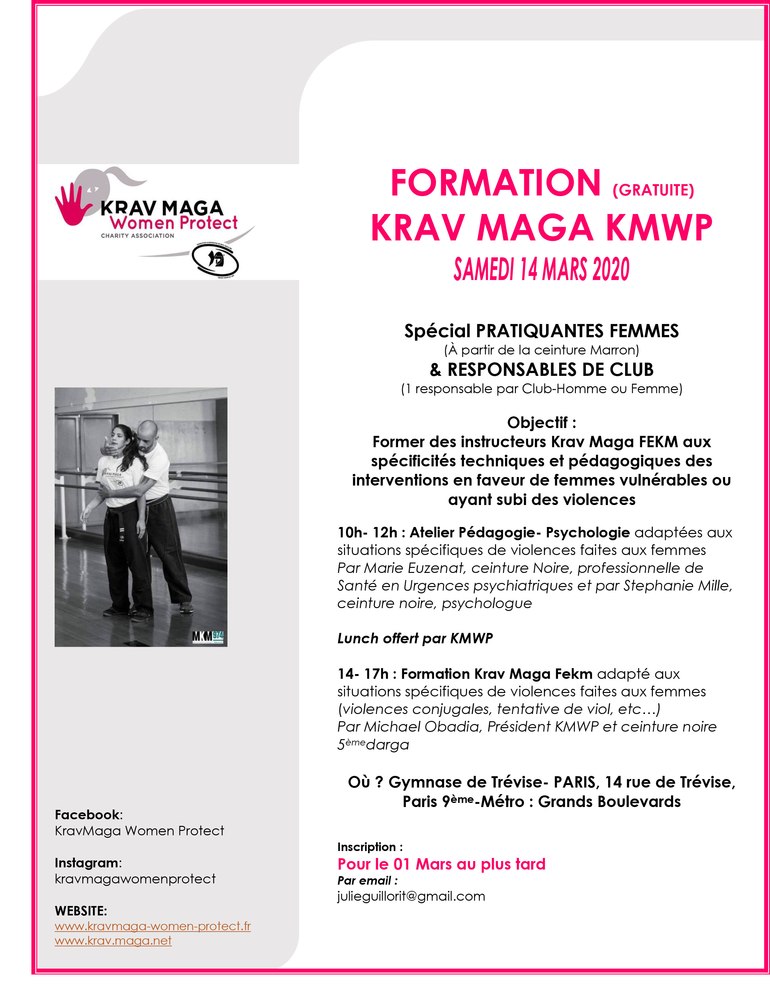 KMWP journee formation 14 mars 2020